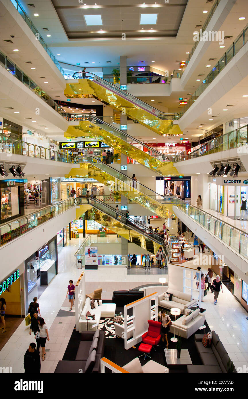 Shopping centre, Orchard Road, Singapore, Southeast Asia, Asia - Stock Image