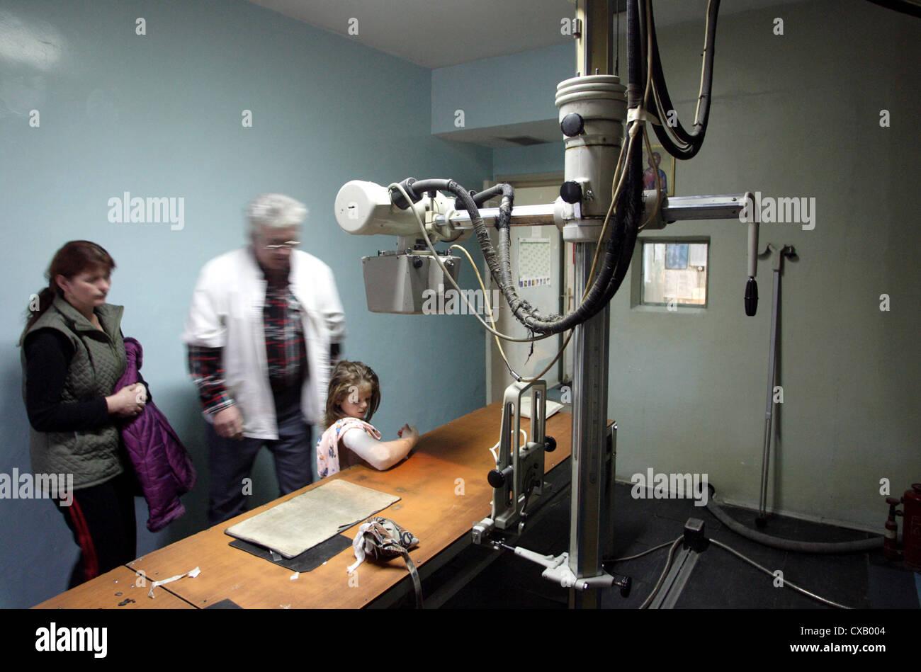 The surgical hospital in Oradea Stock Photo