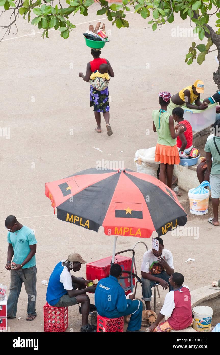 Street scenes in Luanda, Angola, Africa - Stock Image