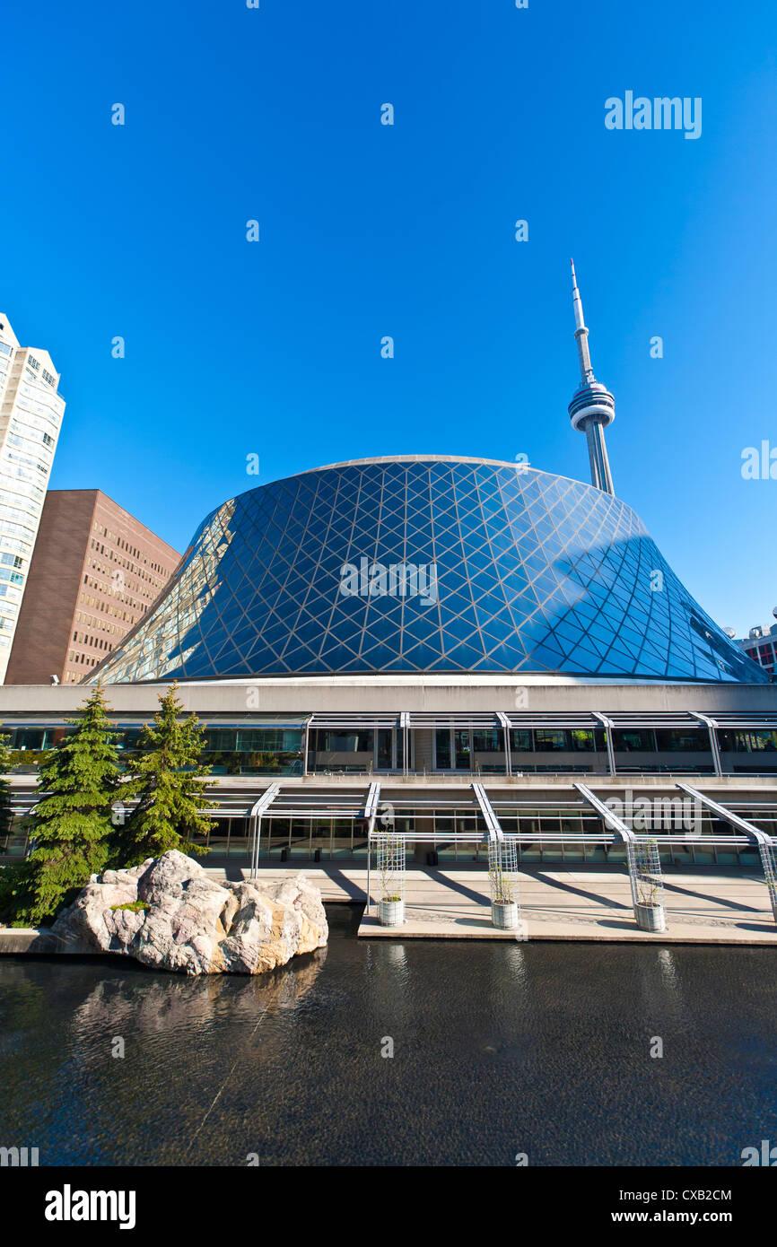 Roy Thompson Hall, Entertainment District, Toronto, Ontario, Canada, North America - Stock Image