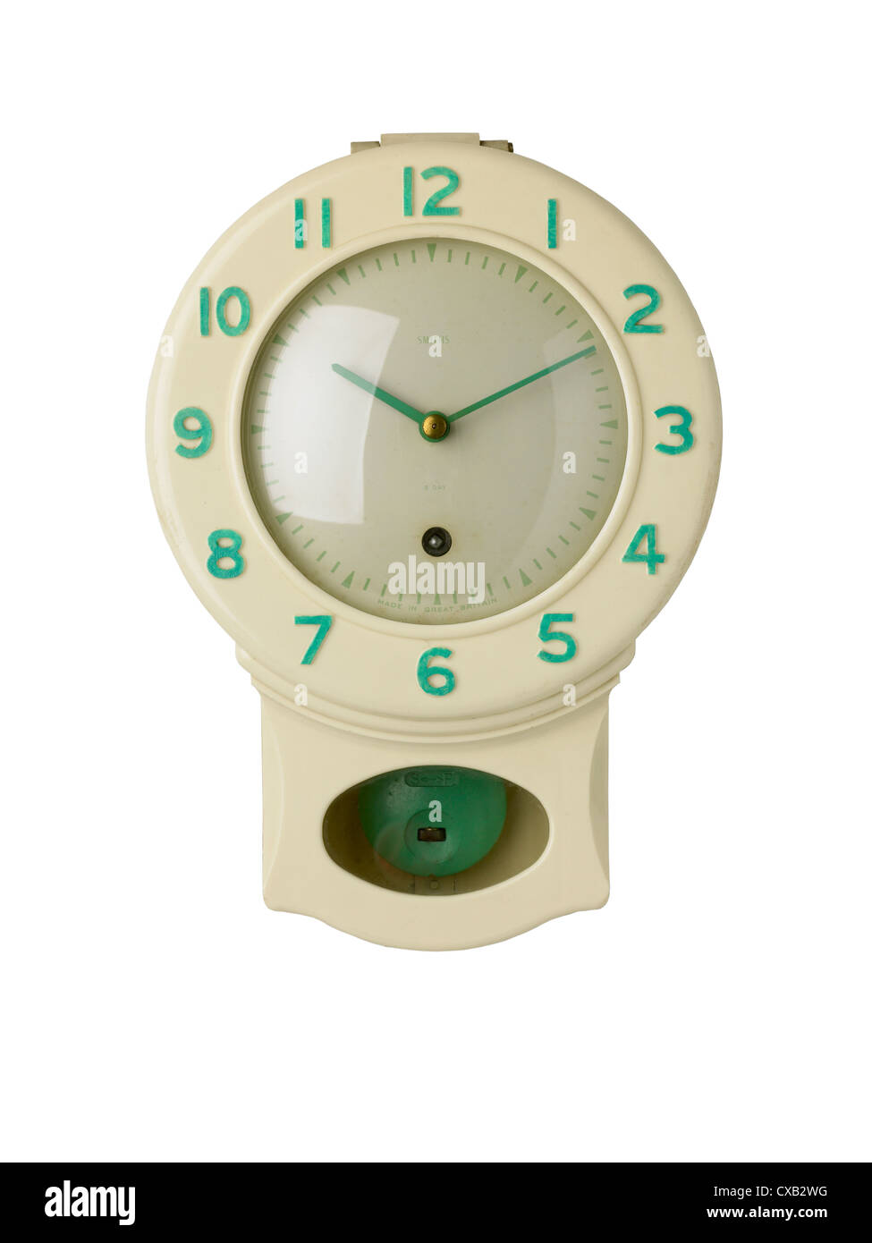 Vintage Kitchen Clock   Stock Image