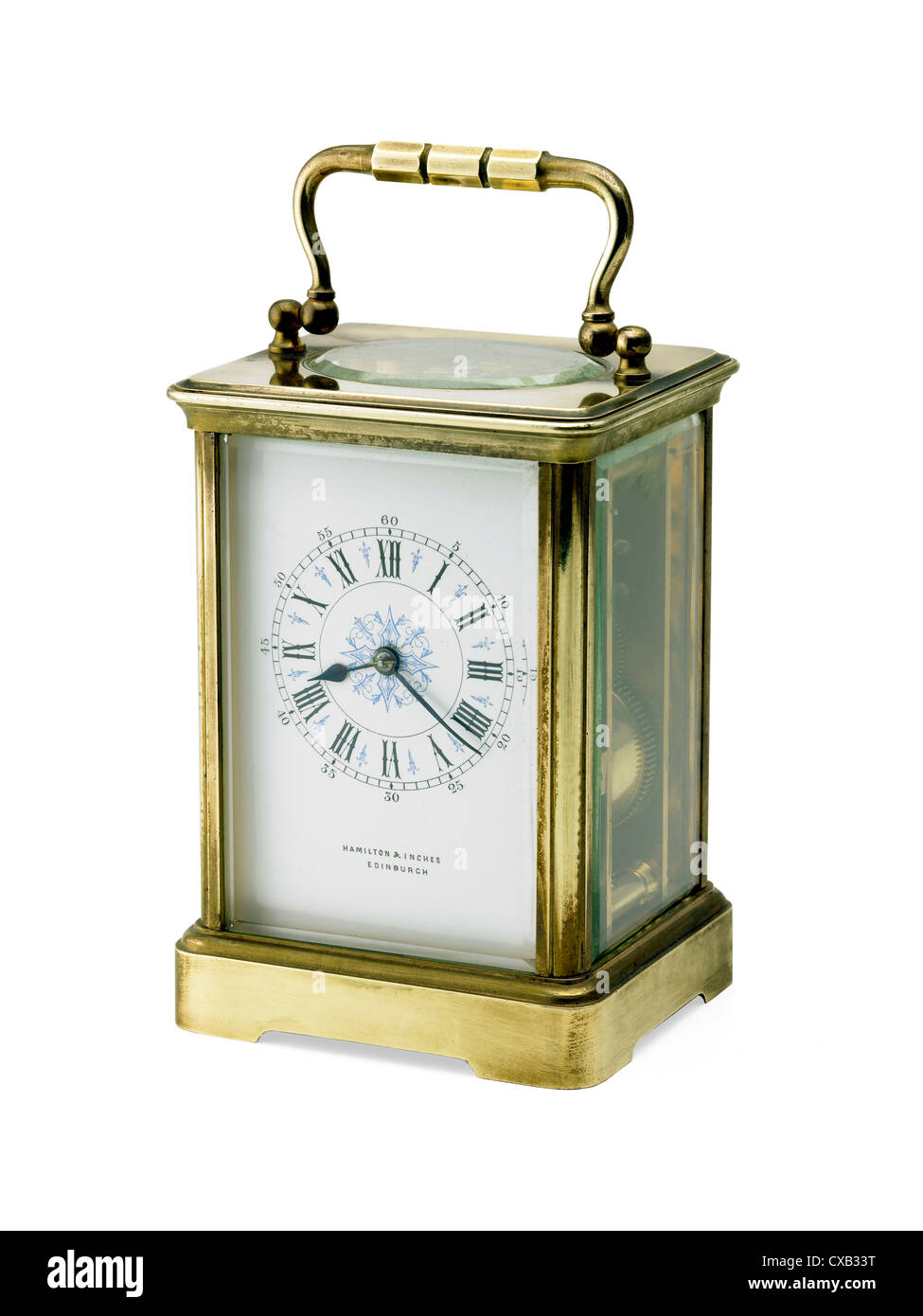 French carriage clock - Stock Image