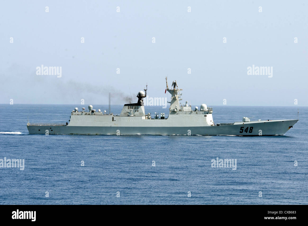The Chinese Peoples Liberation Army Navy frigate Yi Yang