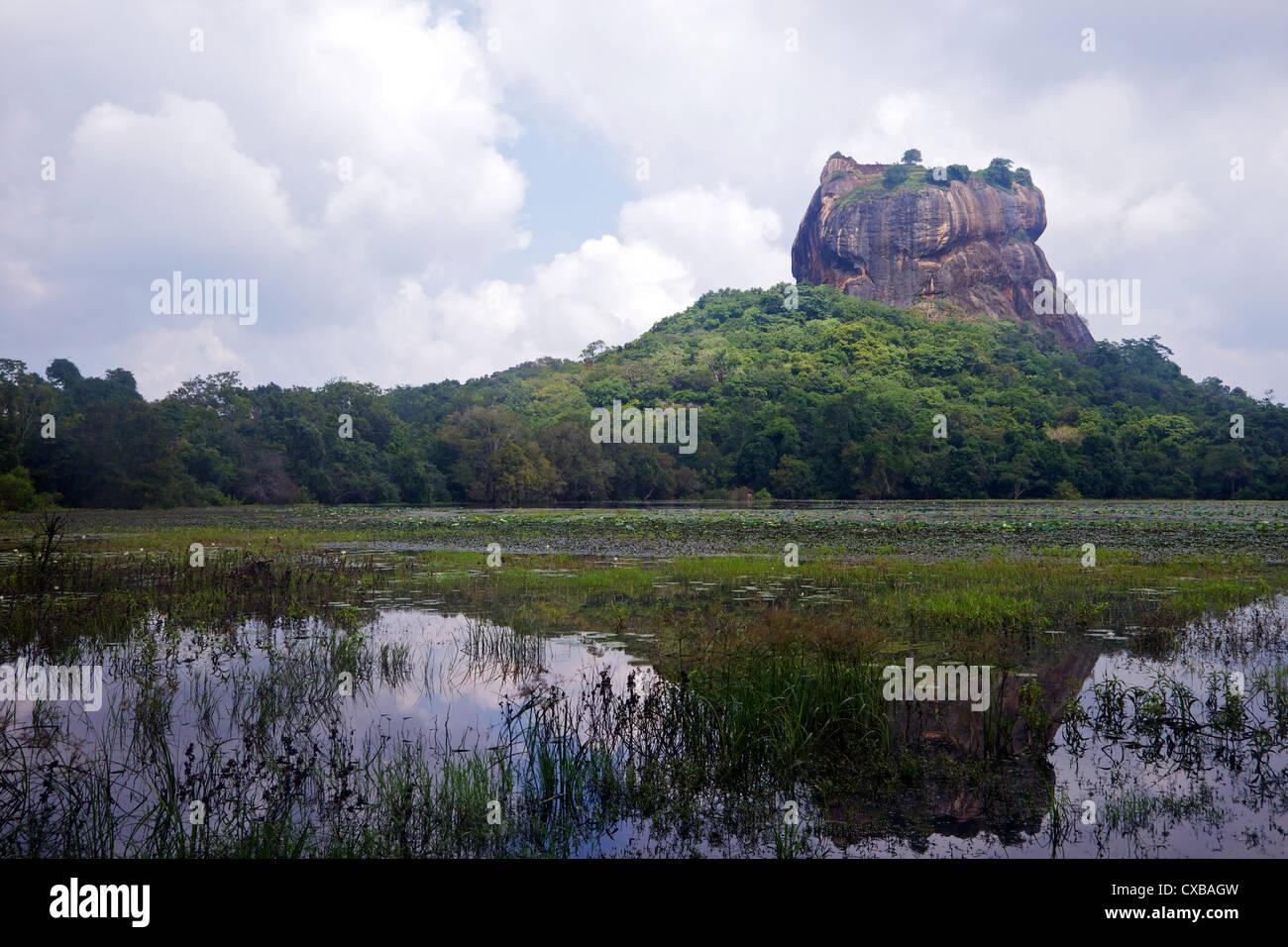 Lion Rock Fortress, Sigiriya, UNESCO World Heritage Site, Sri Lanka, Asia - Stock Image