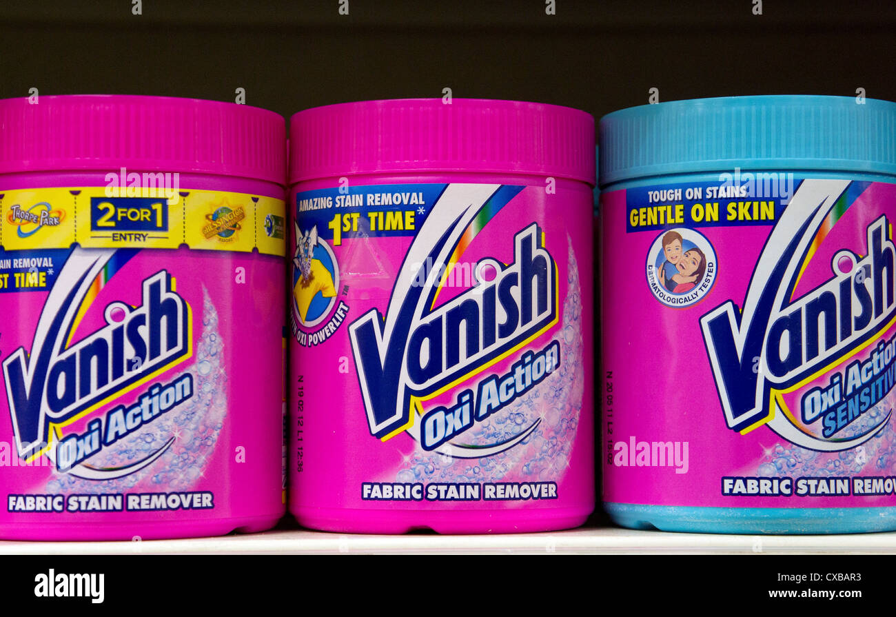 cartons of vanish stain remover stock photo 50651751 alamy
