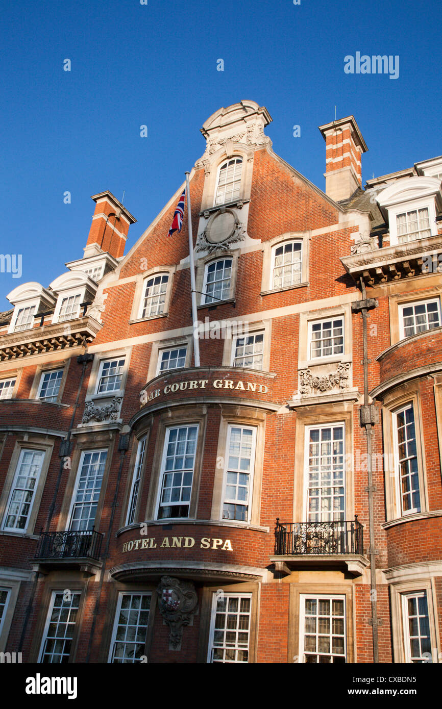 Former North East Railway Headquarters now a Hotel and Spa, York, North Yorkshir, Yorkshire, England, United Kingdom, - Stock Image