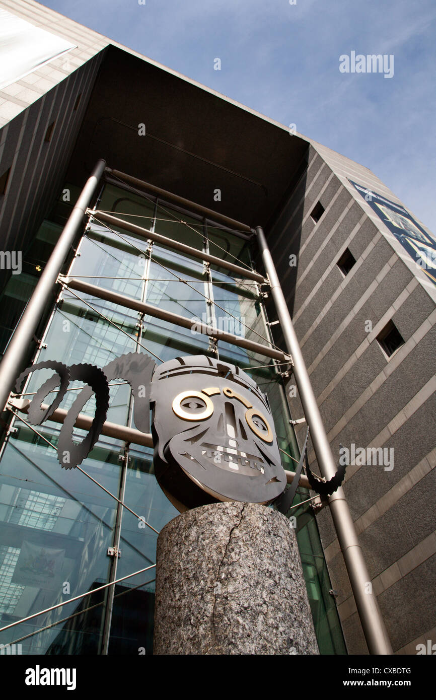 Royal Armouries Museum in Armouries Square, Leeds, West Yorkshire, Yorkshire, England, United Kingdom, Europe Stock Photo