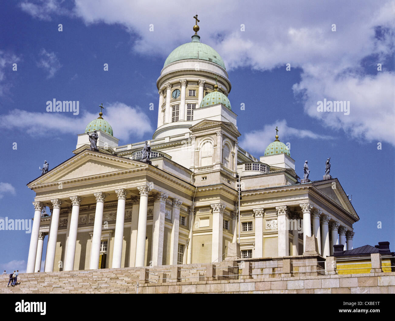 The Helsinki Lutheran Cathedral, Finland - Stock Image