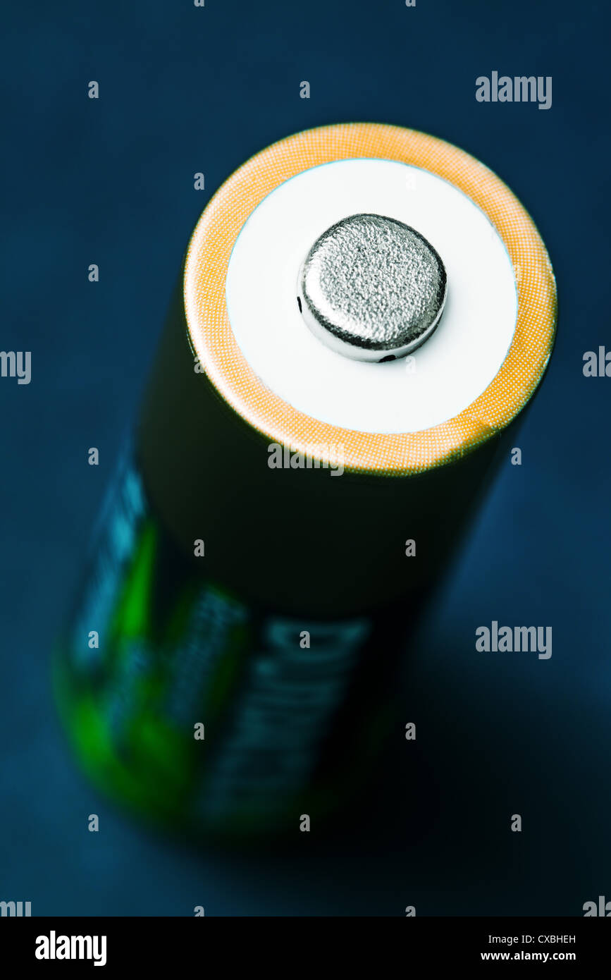 Duracell rechargeable battery - Stock Image