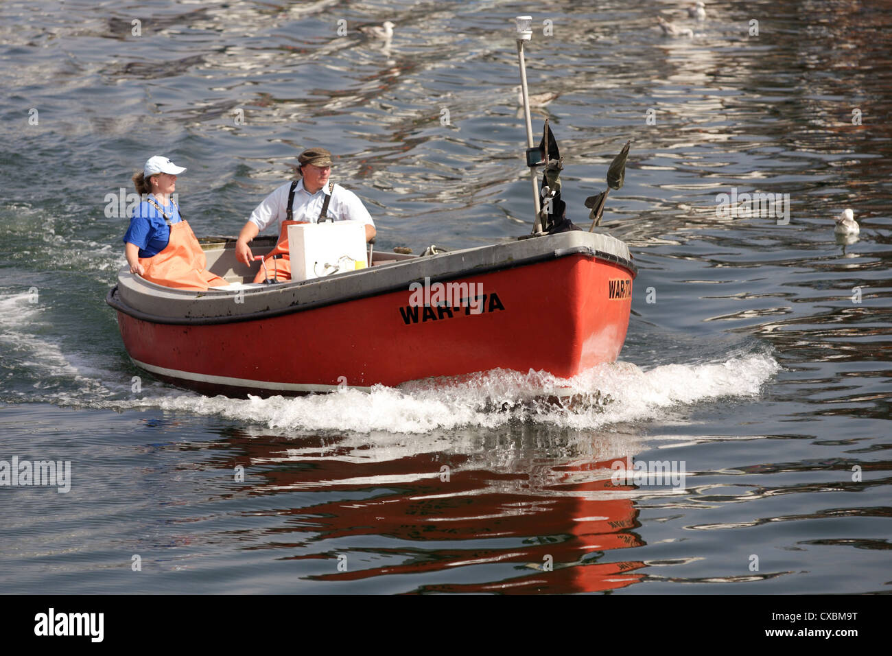 Warnemuende fishing boat on the old river stock photo 50659220 alamy warnemuende fishing boat on the old river publicscrutiny Image collections