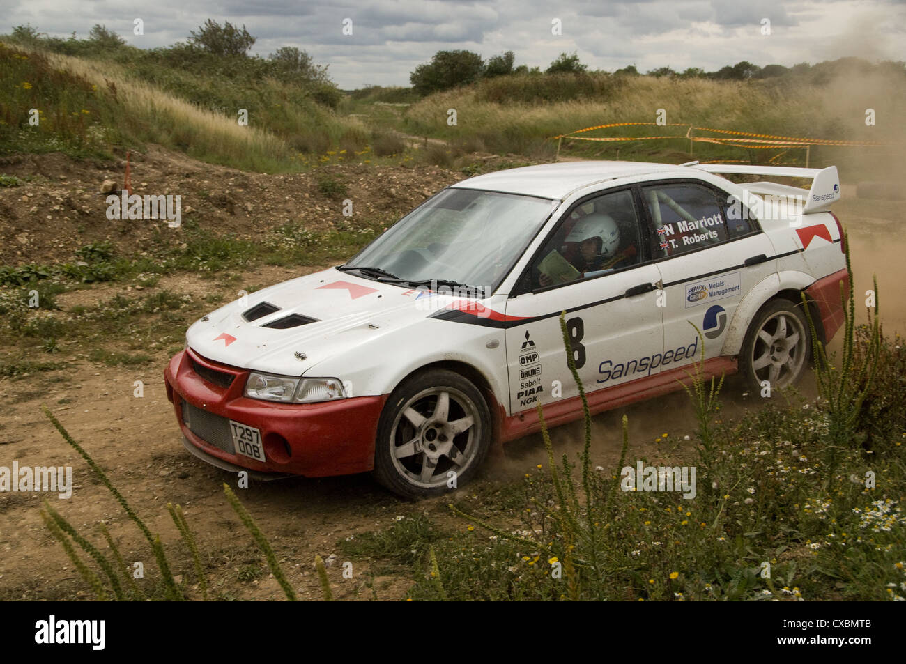 MItsubishi Lancer rally car Stock Photo: 50659627 - Alamy