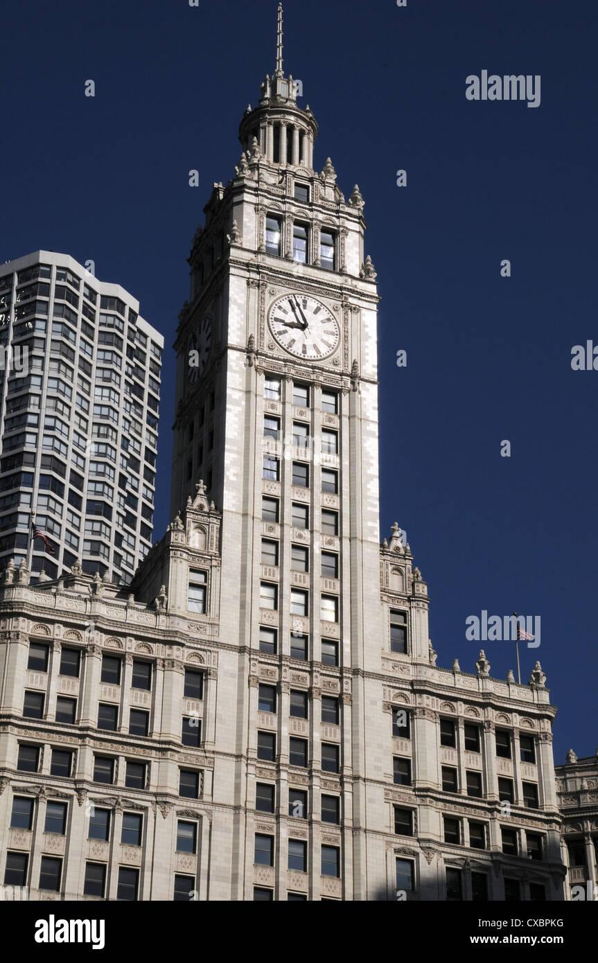 TRIBUNE TOWER,CHICAGO,ILLINOIS,USA Stock Photo