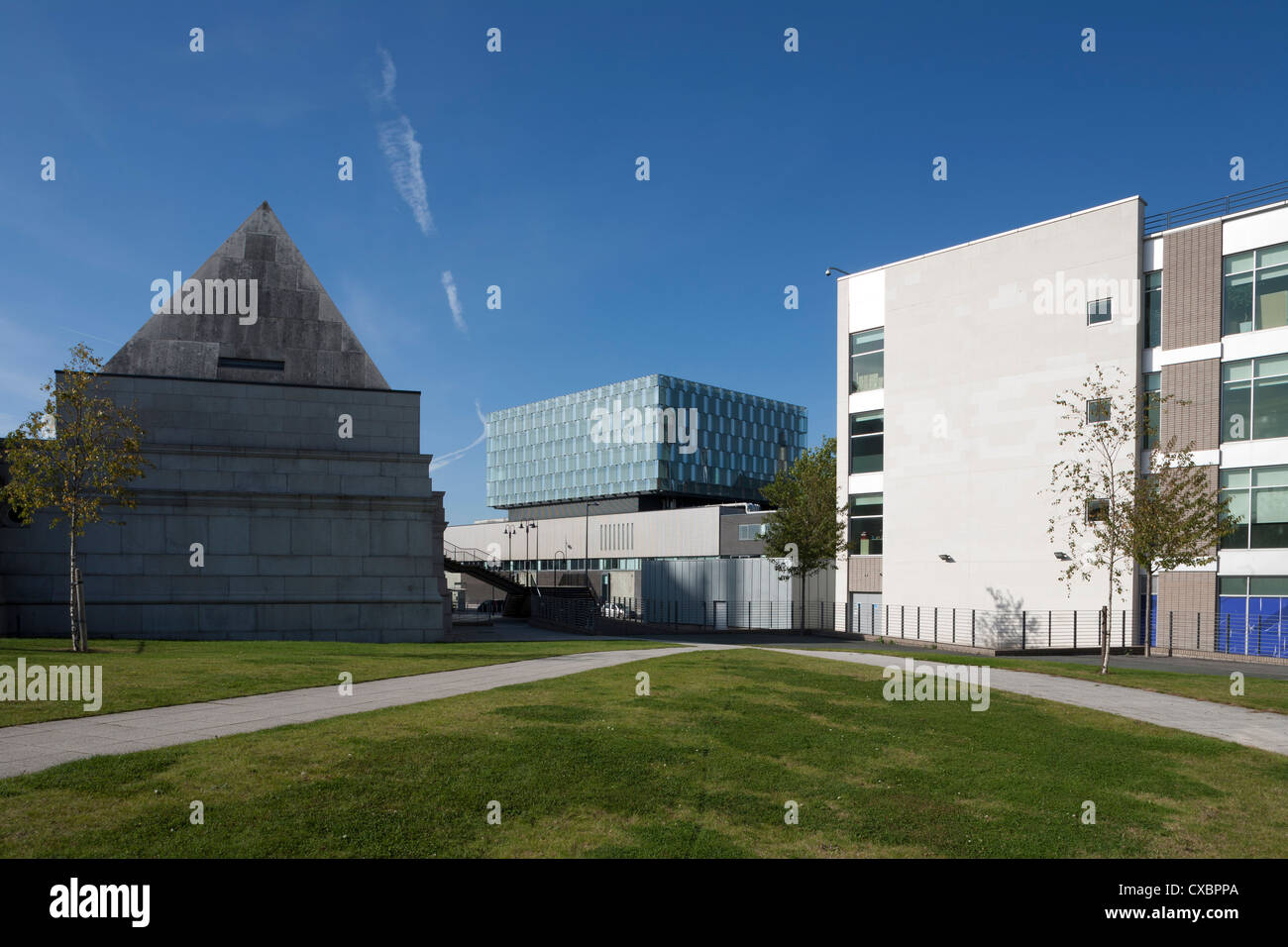 University of Liverpool Faculty of Engineering Building - Stock Image