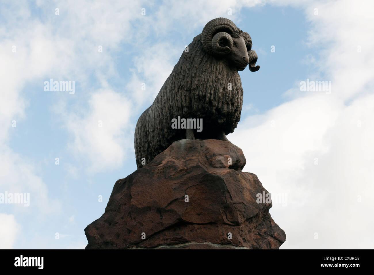 The Moffat Ram, Dumfries & Galloway -2 Stock Photo
