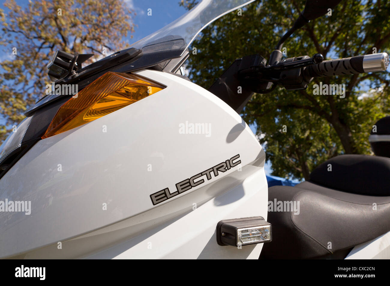 Electric scooter - Stock Image