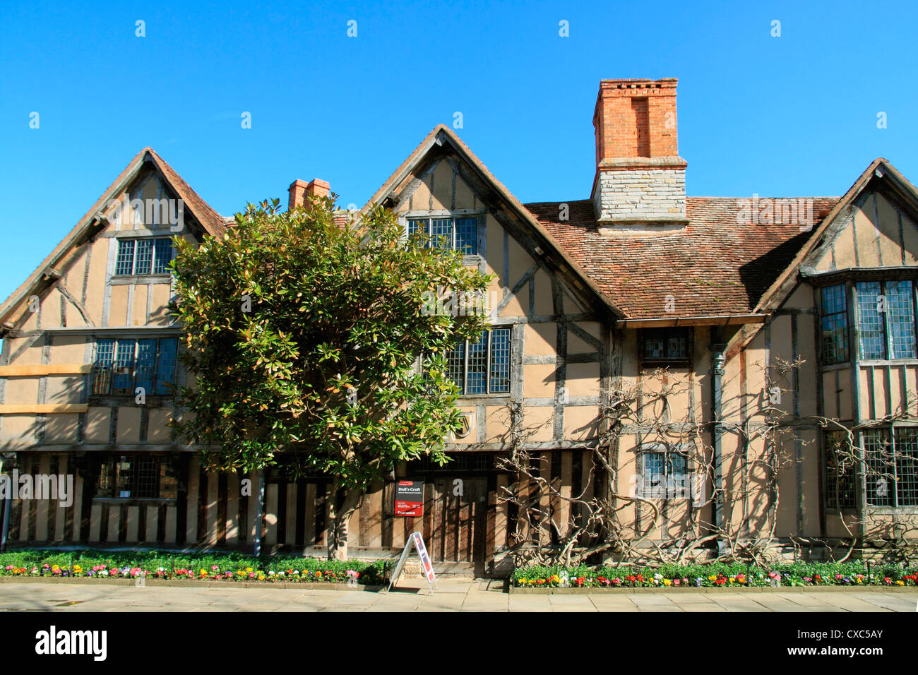 Hall's Croft, Stratford-upon-Avon, Warwickshire, England, United Kingdom, Europe - Stock Image