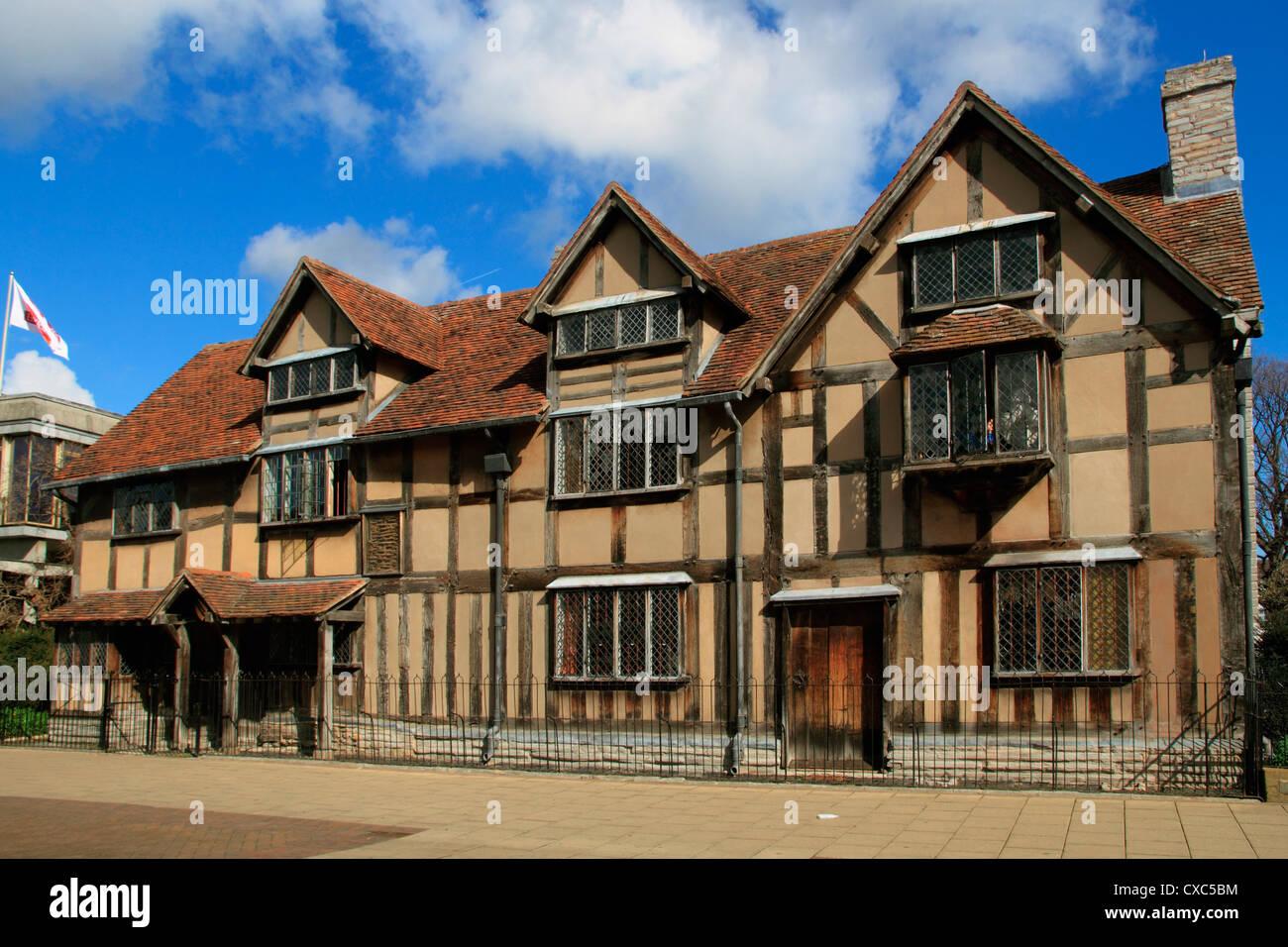 Shakespeares Birthplace Stratford Upon Avon Warwickshire England United Kingdom Europe