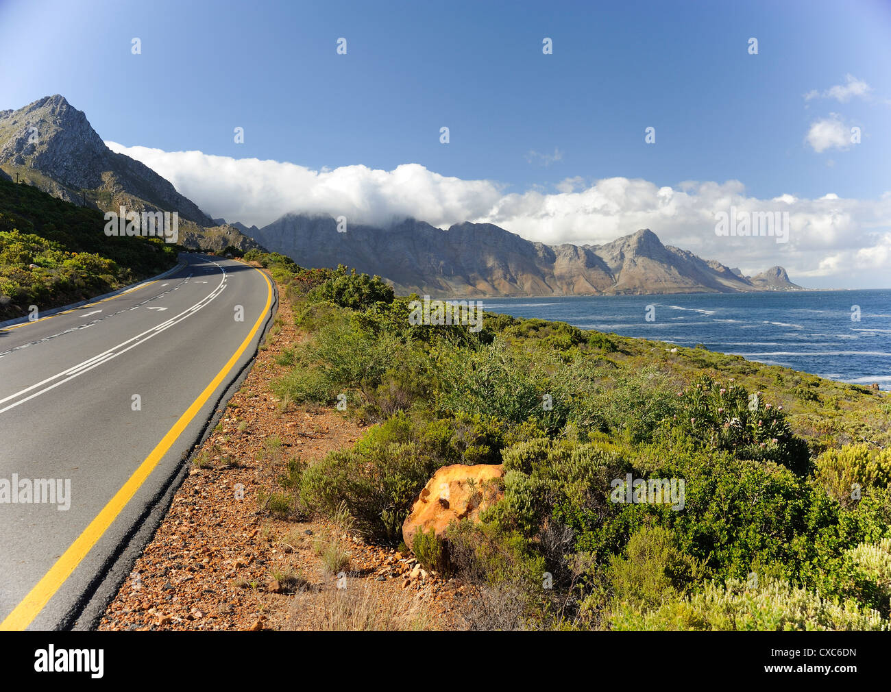 Gordon's Bay, The Garden Route, Cape Province, South Africa, Africa Stock Photo
