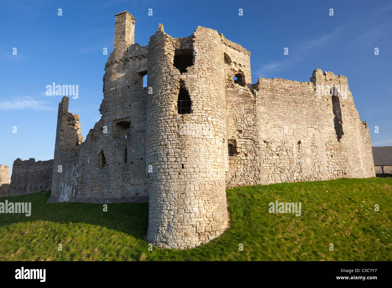 Coity (Coety) Castle, Bridgend, South Wales, Wales, United Kingdom, Europe - Stock Image