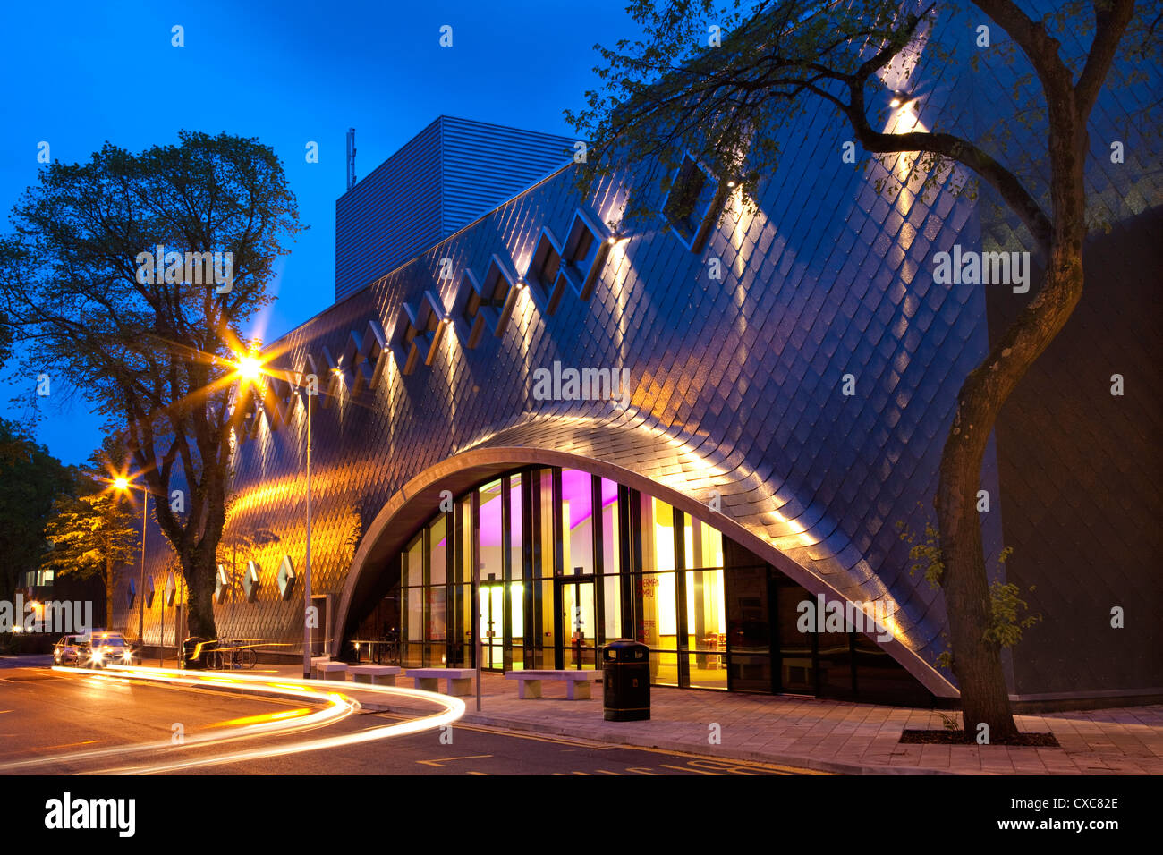 Sherman Theatre, Cardiff, South Wales, Wales, United Kingdom, Europe - Stock Image
