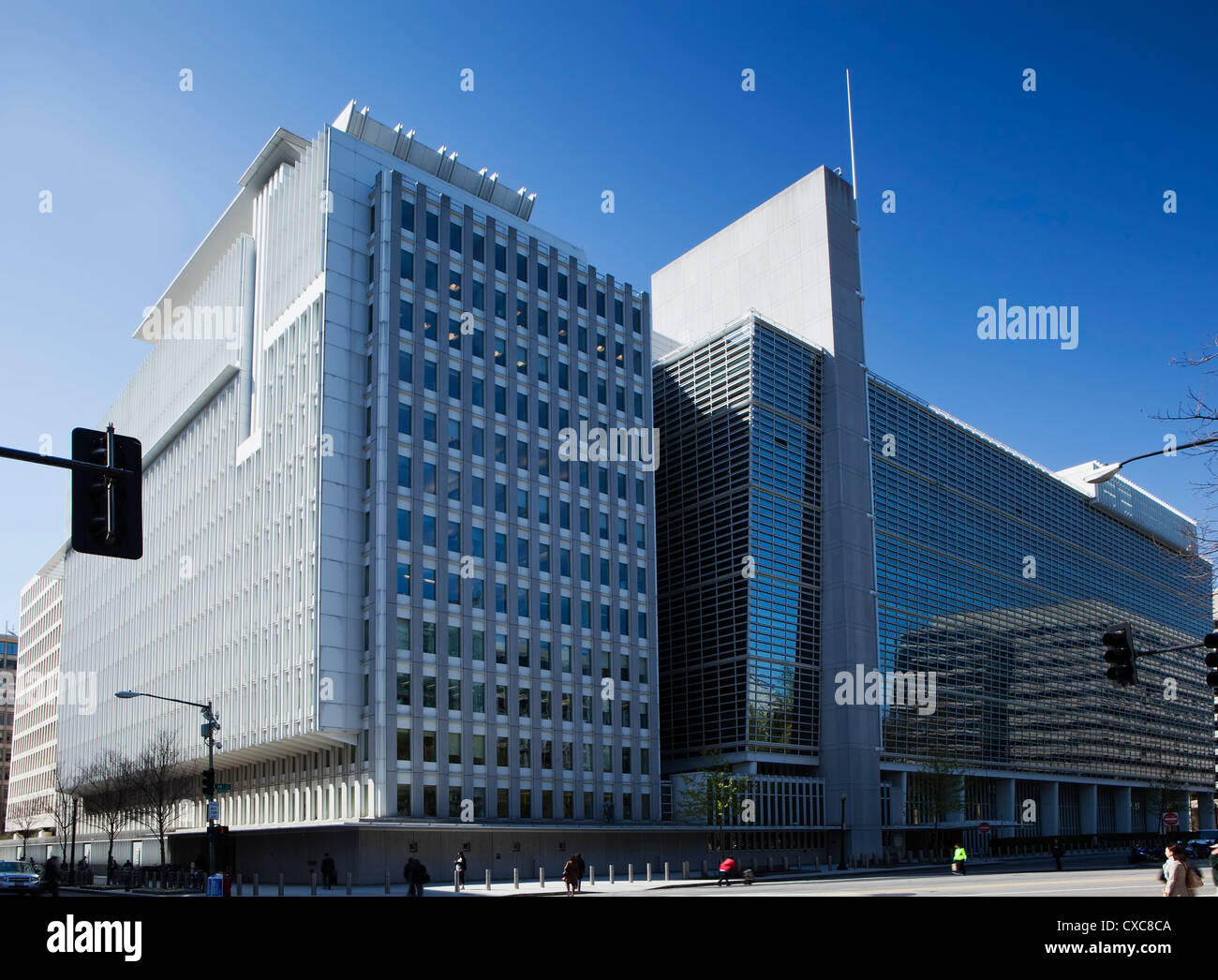 The World Bank Group Building housing the International Bank for Reconstruction and Development, Washington D.C. - Stock Image