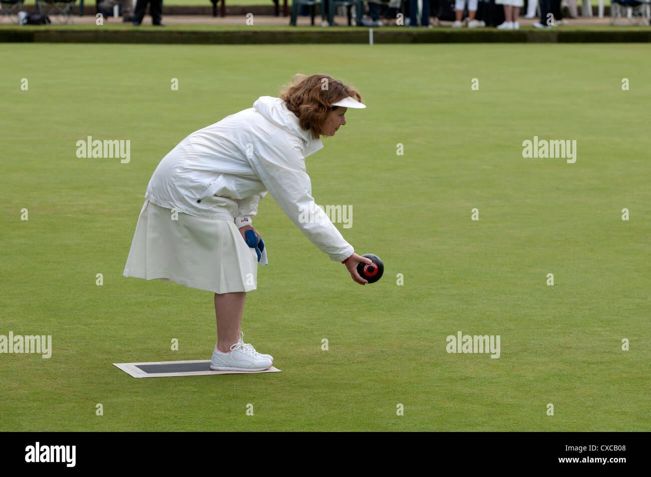 Women`s bowls - Stock Image