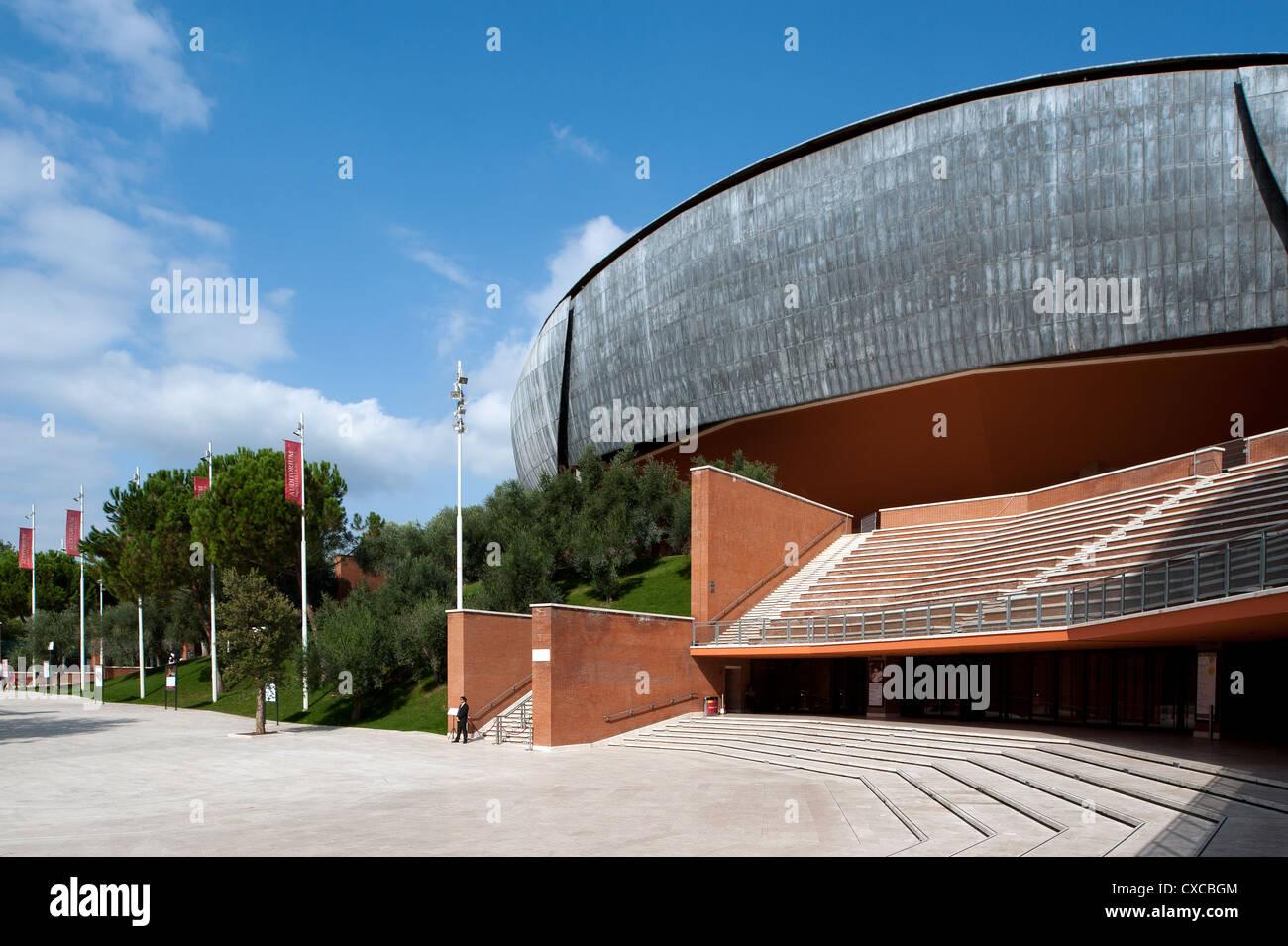 Auditorium Parco della Musica, designed by architect Renzo Piano. Rome, Italy, Europe Stock Photo