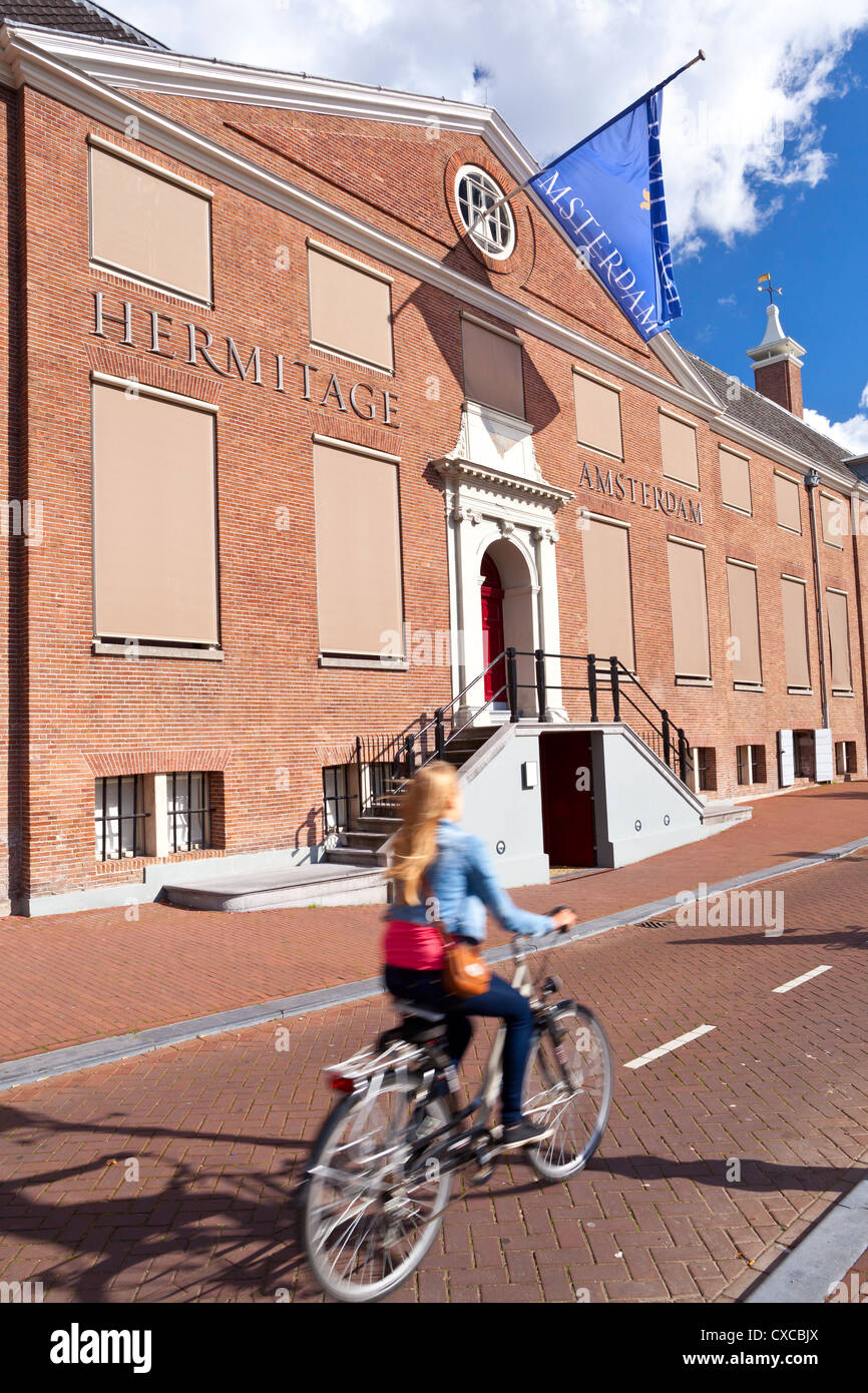 Amsterdam: Hermitage from the outside - Netherlands, Europe - Stock Image
