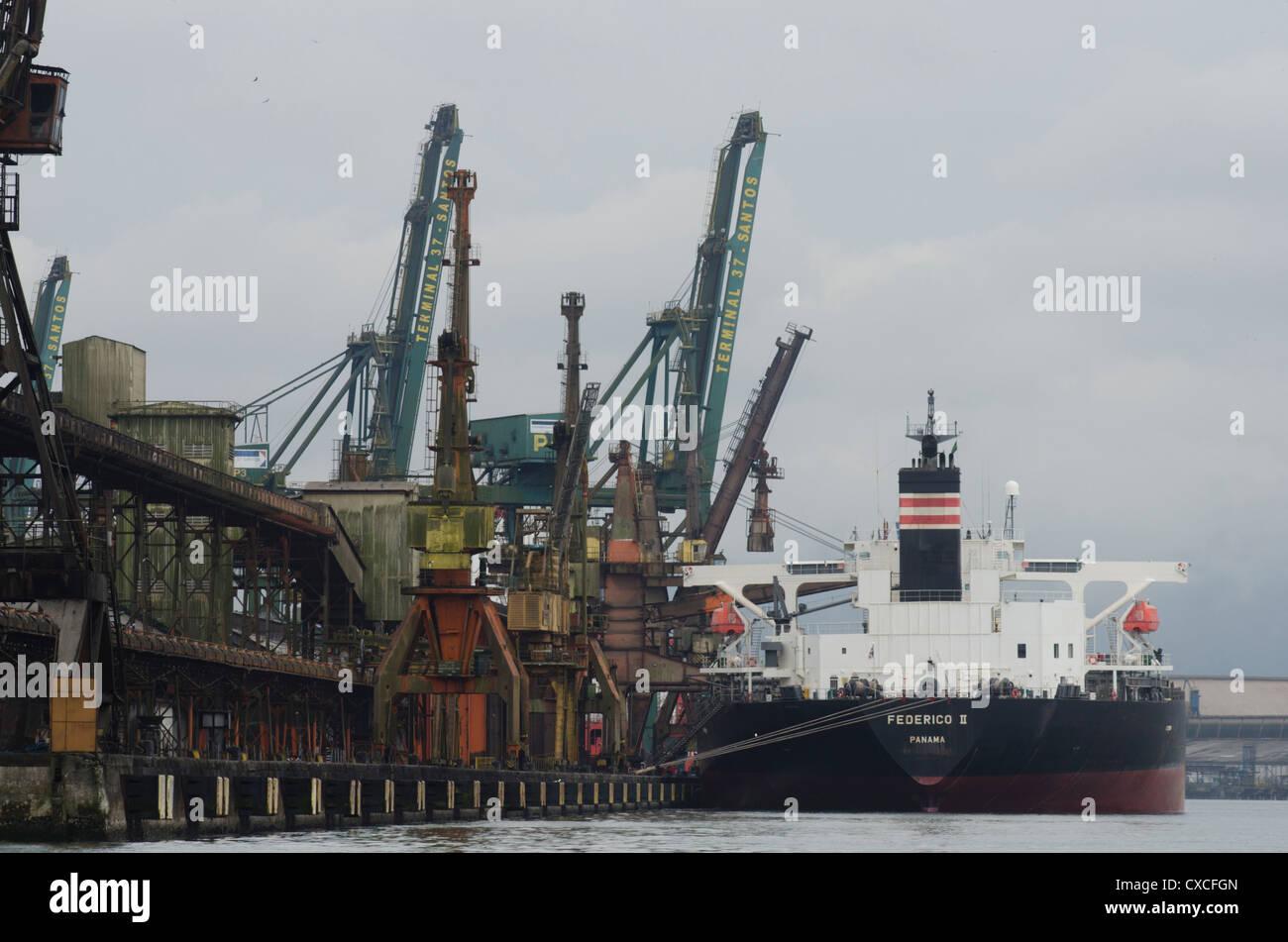 tanker vessels at ship yard in niteroi guanabara bay rio de stock