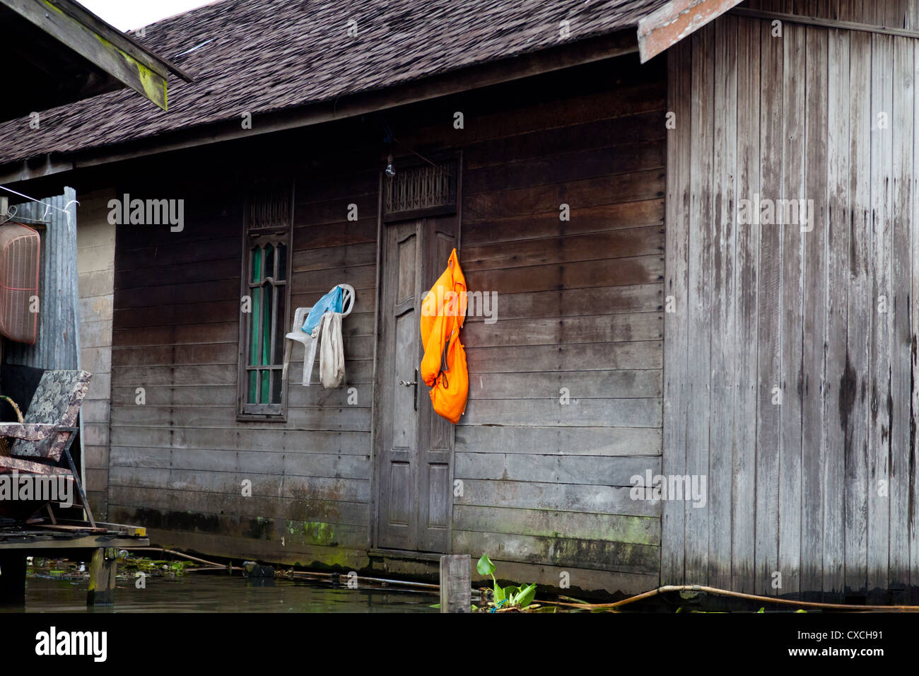 Drying Laundry On Wooden Stilted Stock Photos Drying Laundry On