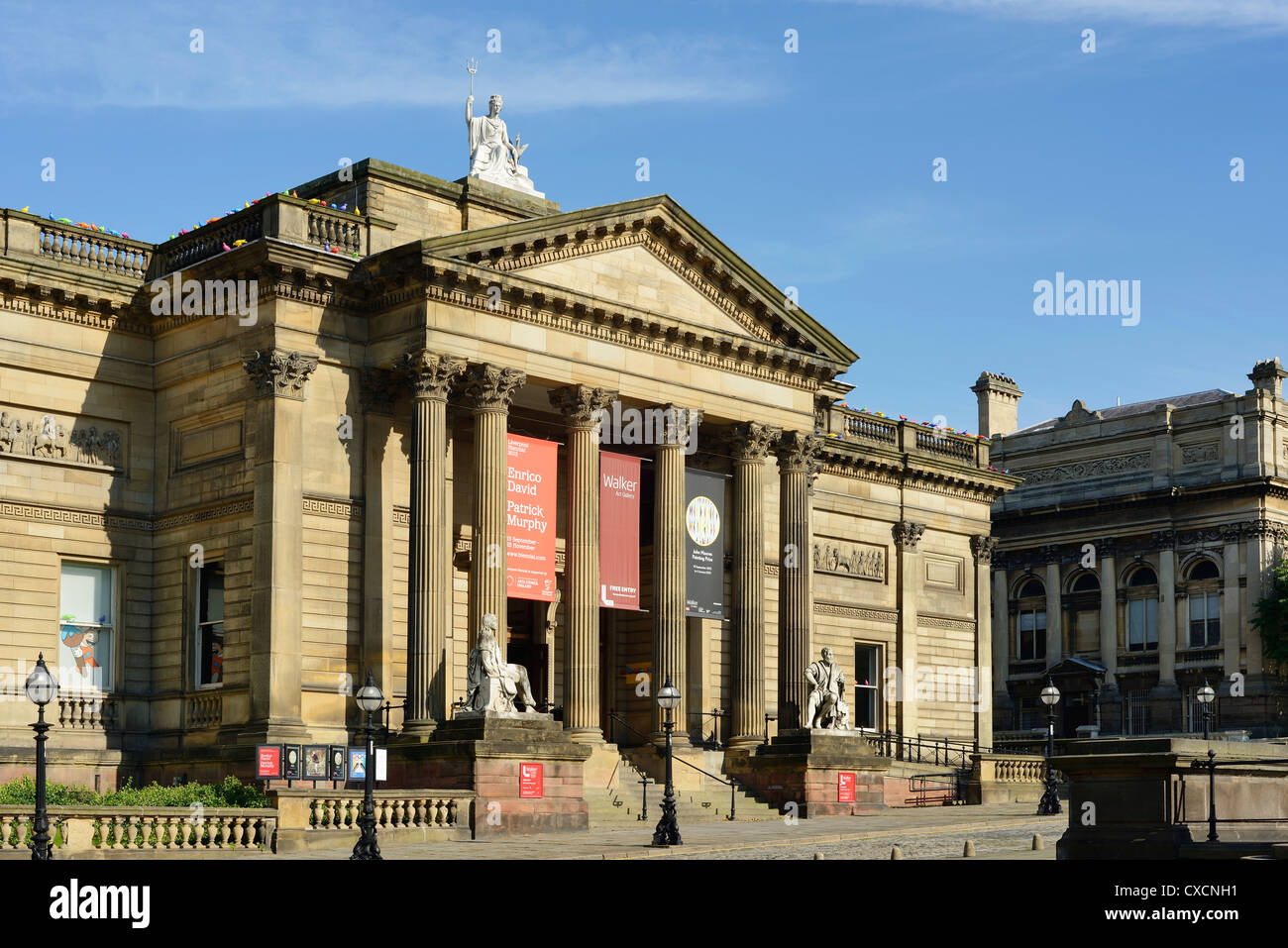 Walker Art Gallery Liverpool - Stock Image