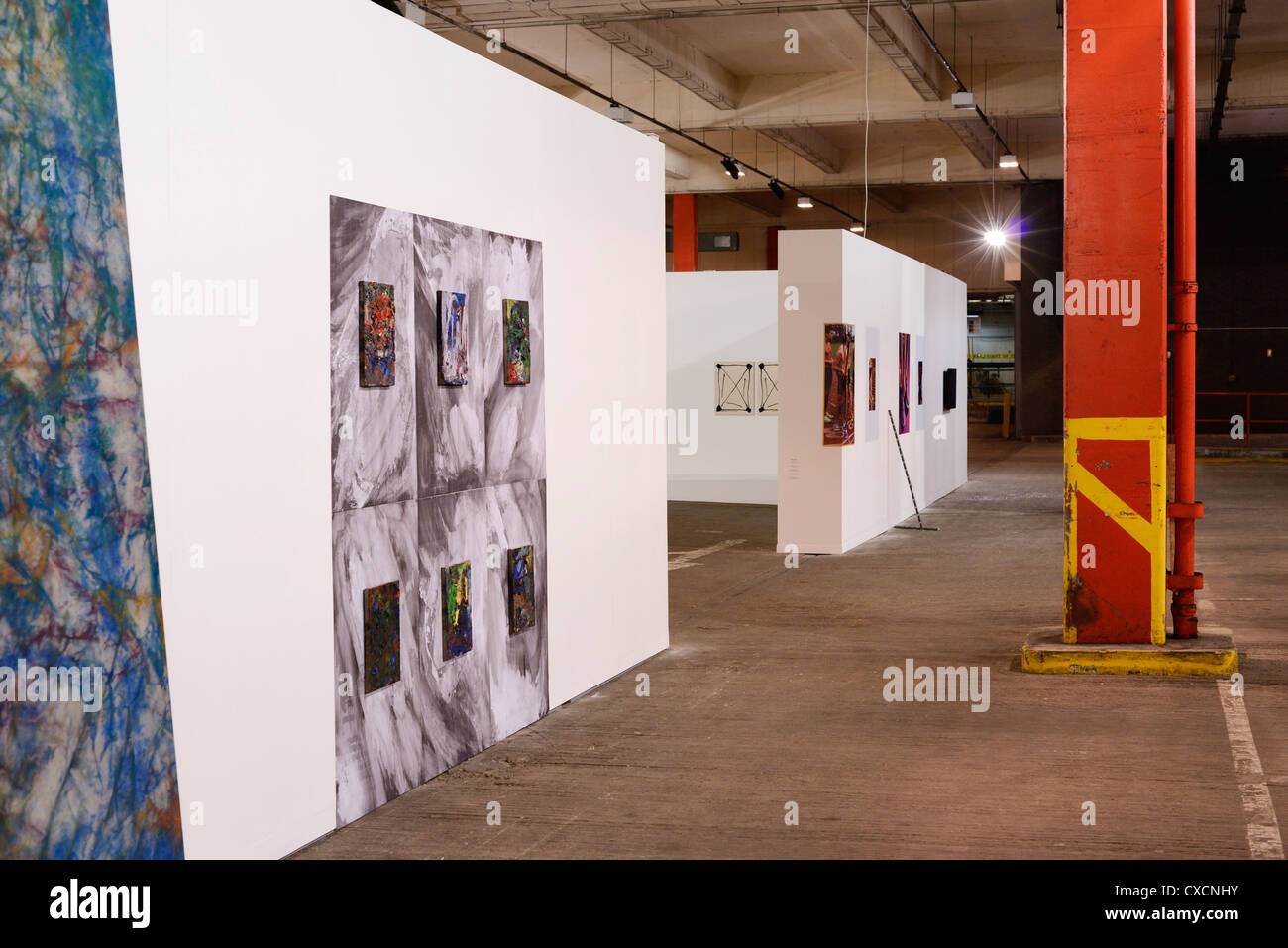 Bloomberg New Contemporaries 2012 art exhibition as part of the Liverpool Biennial - Stock Image