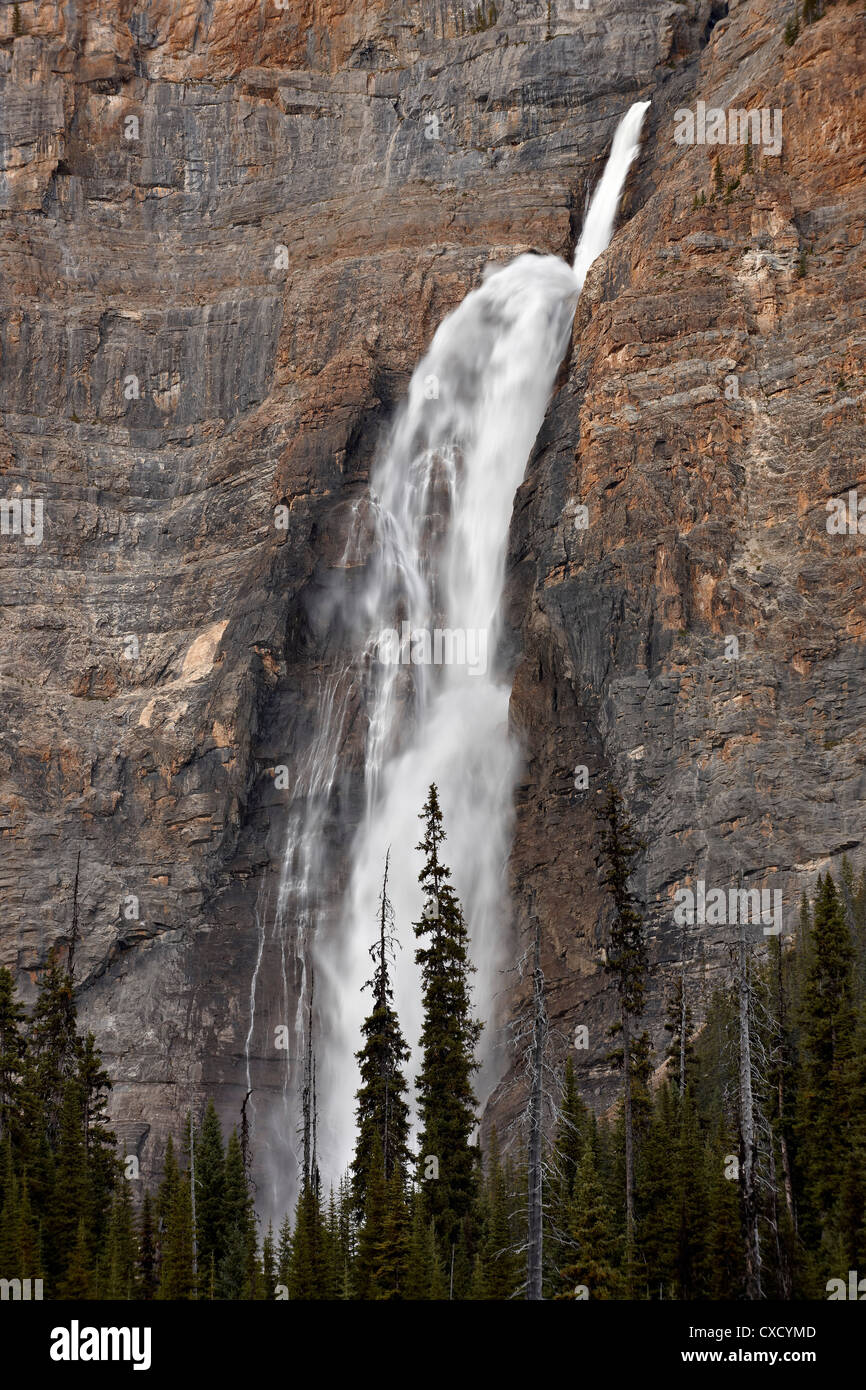 Takakkaw Falls, Yoho National Park, UNESCO World Heritage Site, British Columbia, Canada, North America Stock Photo