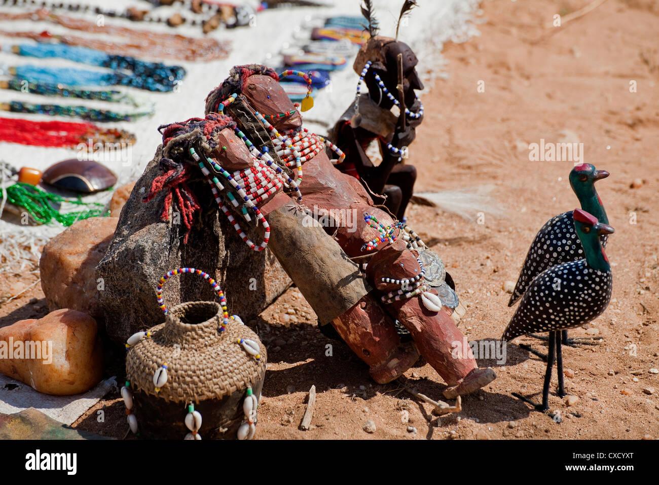 outdoor market in Kenya - Stock Image