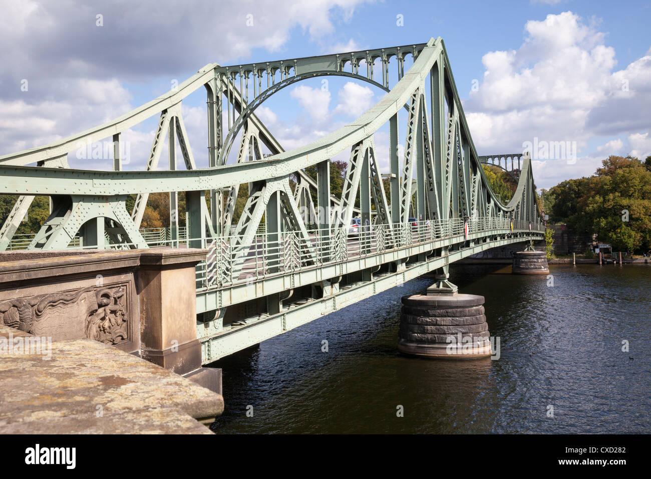 Glienicke Bridge, Berlin, Germany - Stock Image