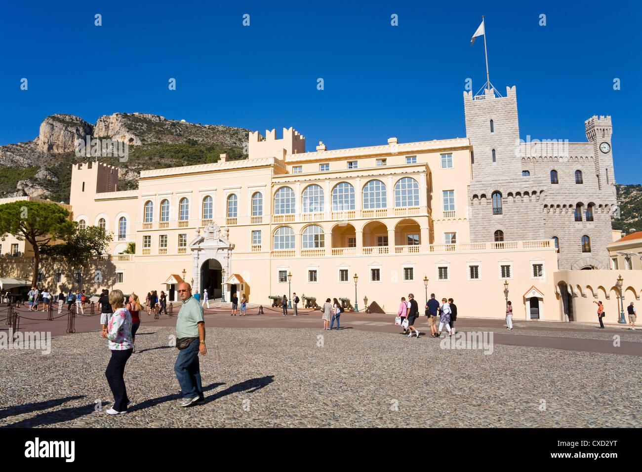Princes Place in Old Monaco, Monte Carlo City, Monaco, Europe - Stock Image