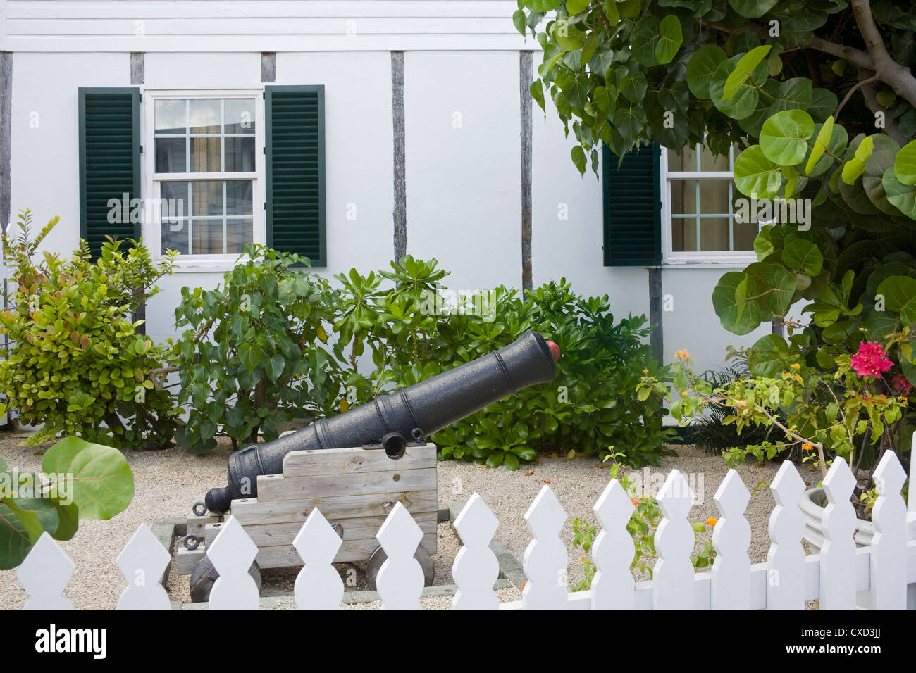 National Museum in George Town, Grand Cayman, Cayman Islands, Greater Antilles, West Indies, Caribbean, Central - Stock Image