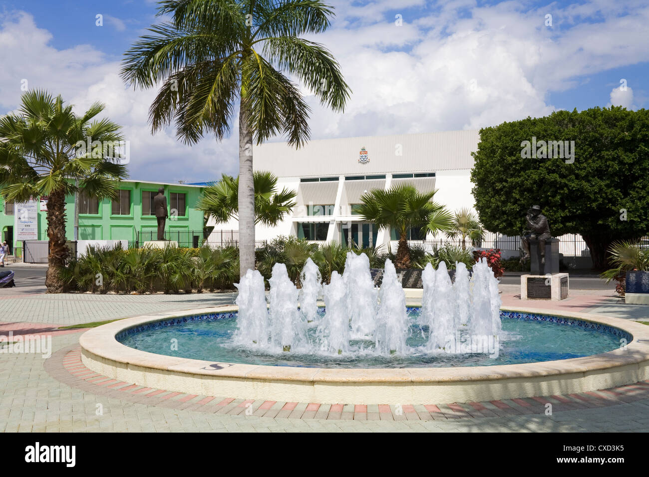 Heroes Square in George Town, Grand Cayman, Cayman Islands, Greater Antilles, West Indies, Caribbean, Central America - Stock Image