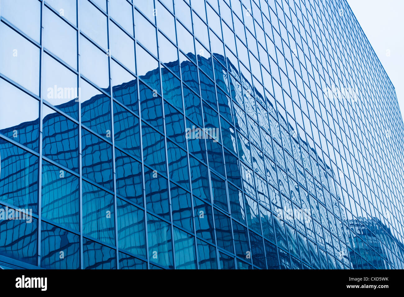 glass curtain wall Stock Photo