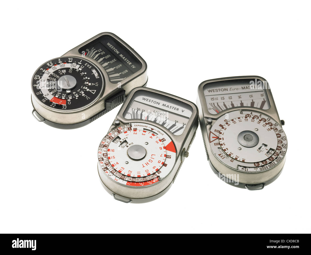 Light meters - Stock Image