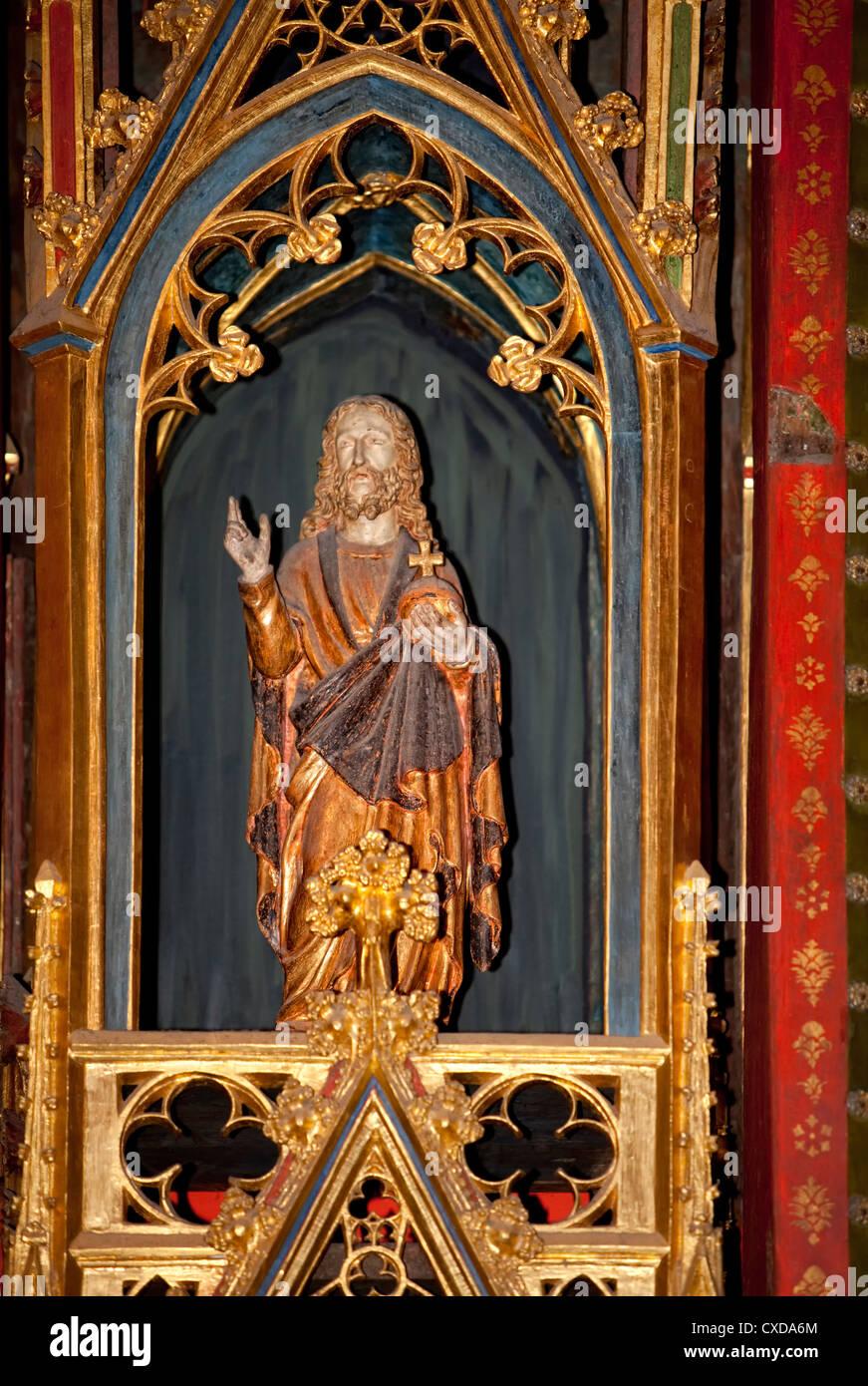 Klaren altar, 14th century, Koelner Dom, Cologne Cathedral, Germany, Europe - Stock Image