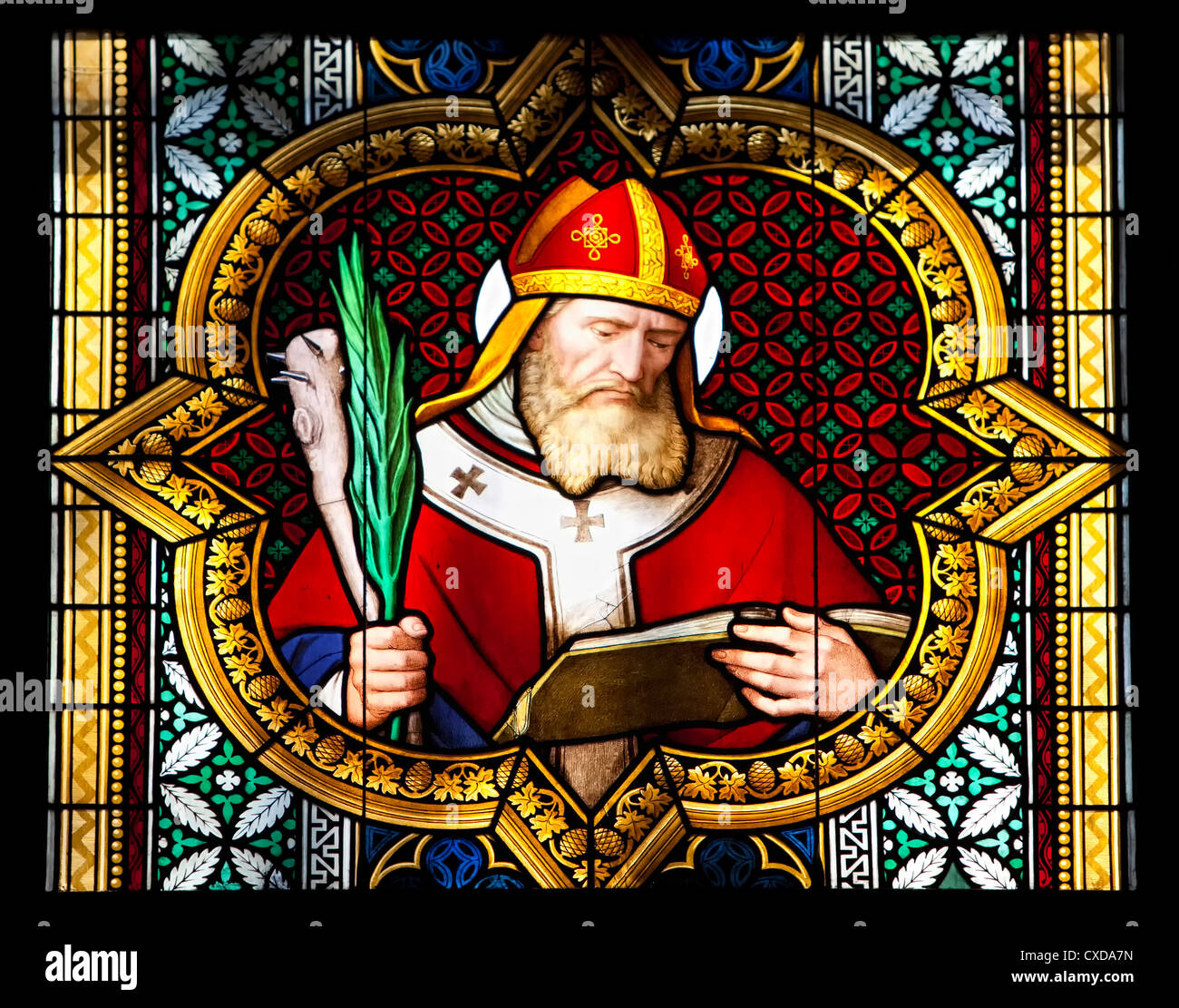 Coloured Stained Glass Stock Photos & Coloured Stained Glass Stock ...