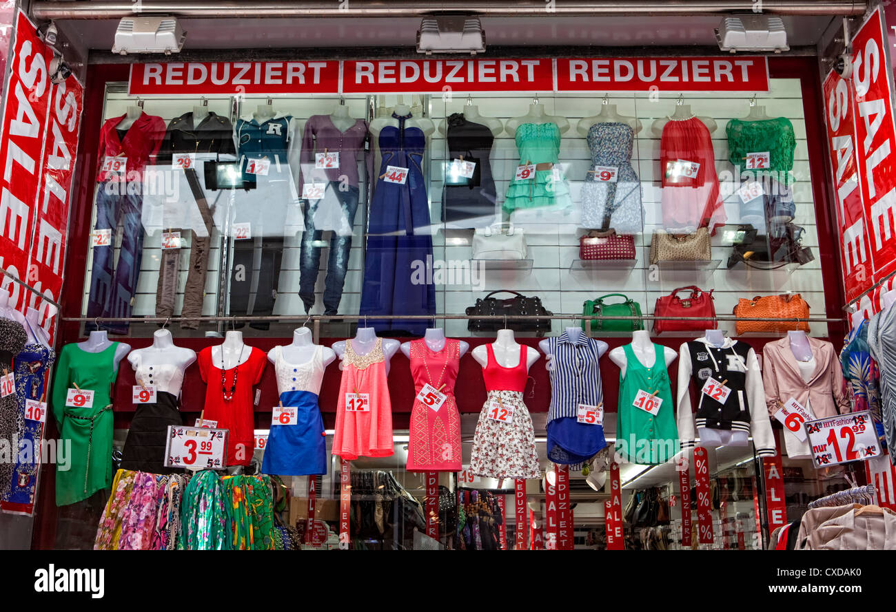 Sale, Cologne, Germany, Europe - Stock Image