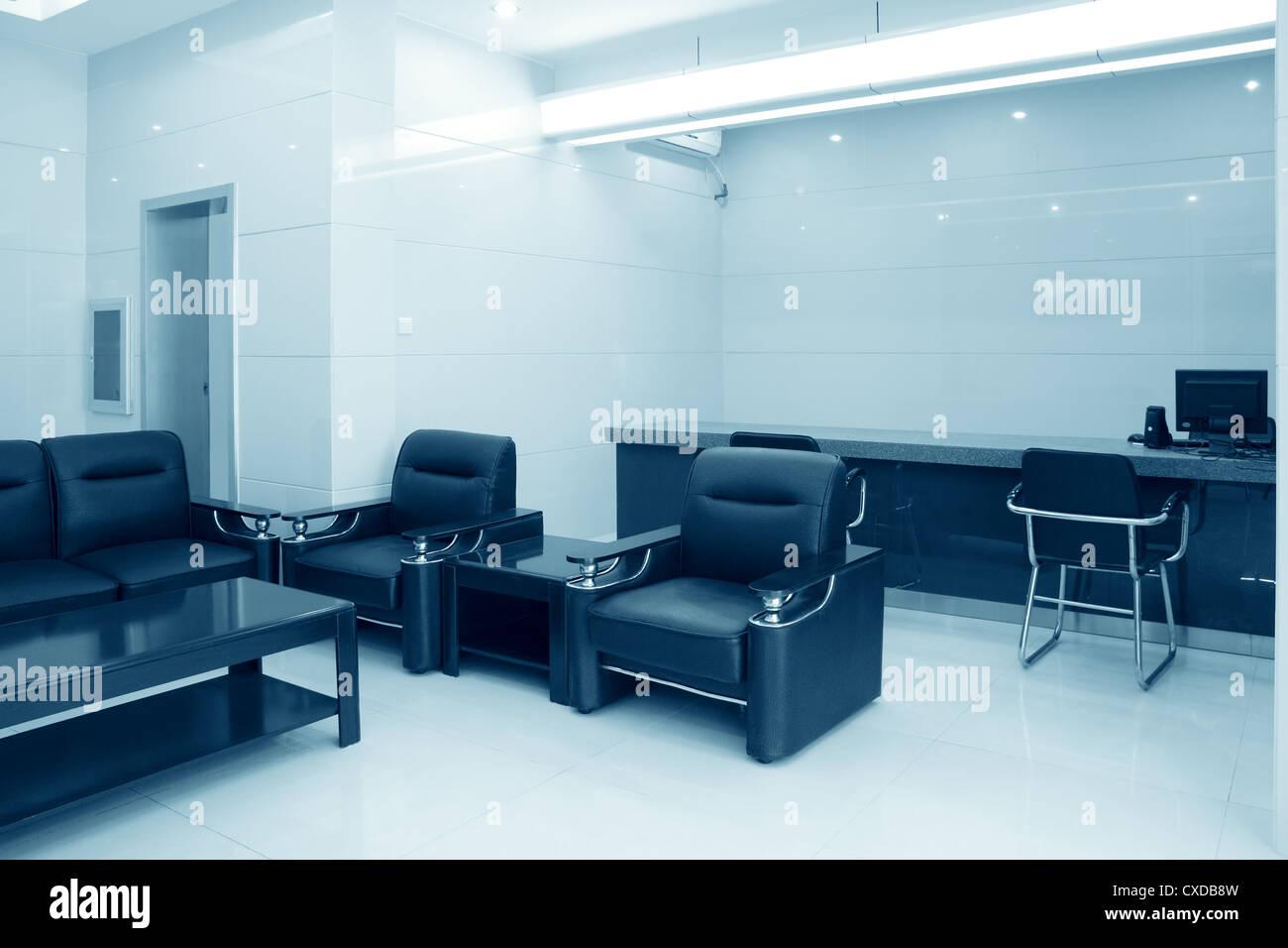 reception room - Stock Image