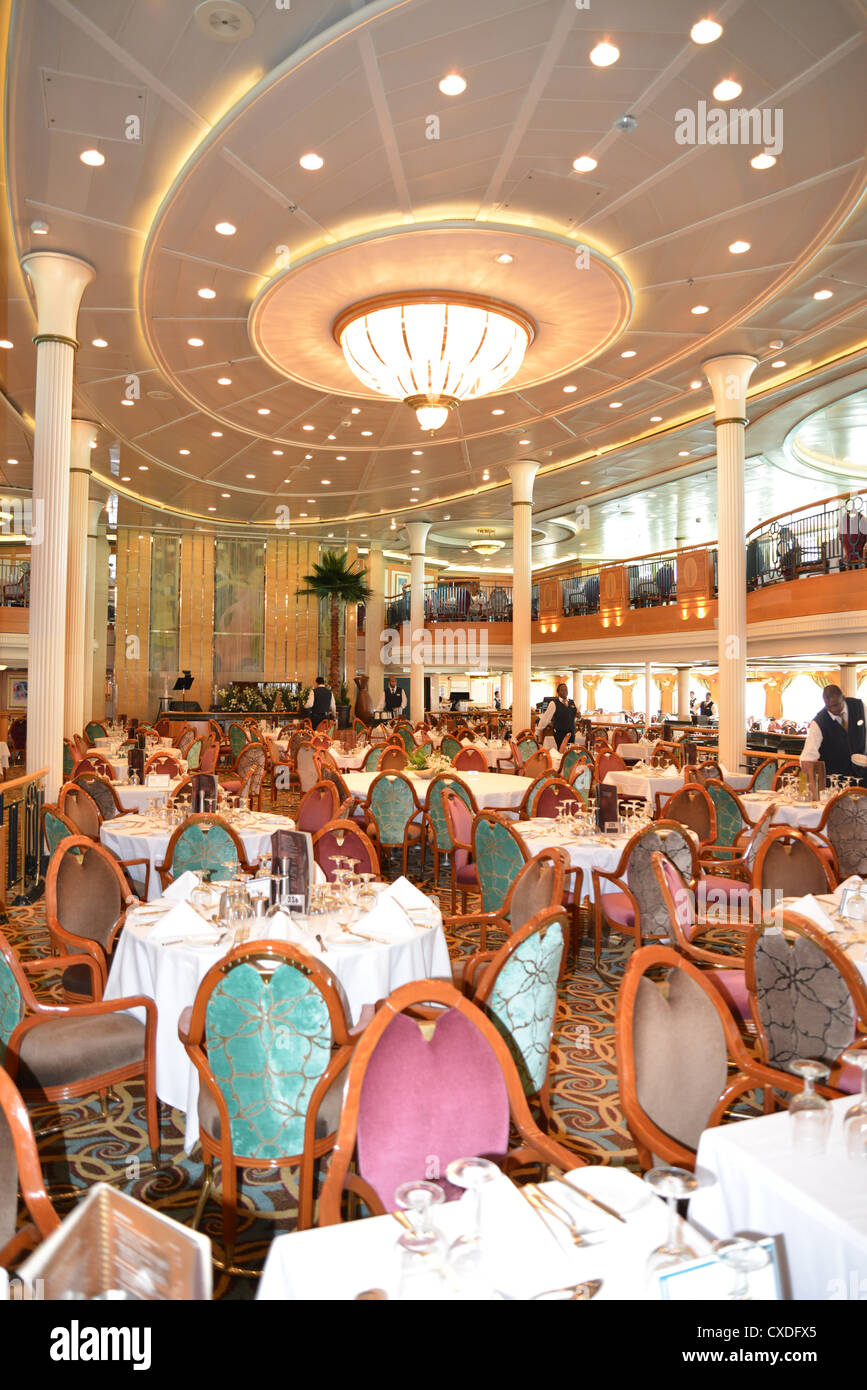 The Great Gatsby Dining Room On Board Royal Caribbean Grandeur