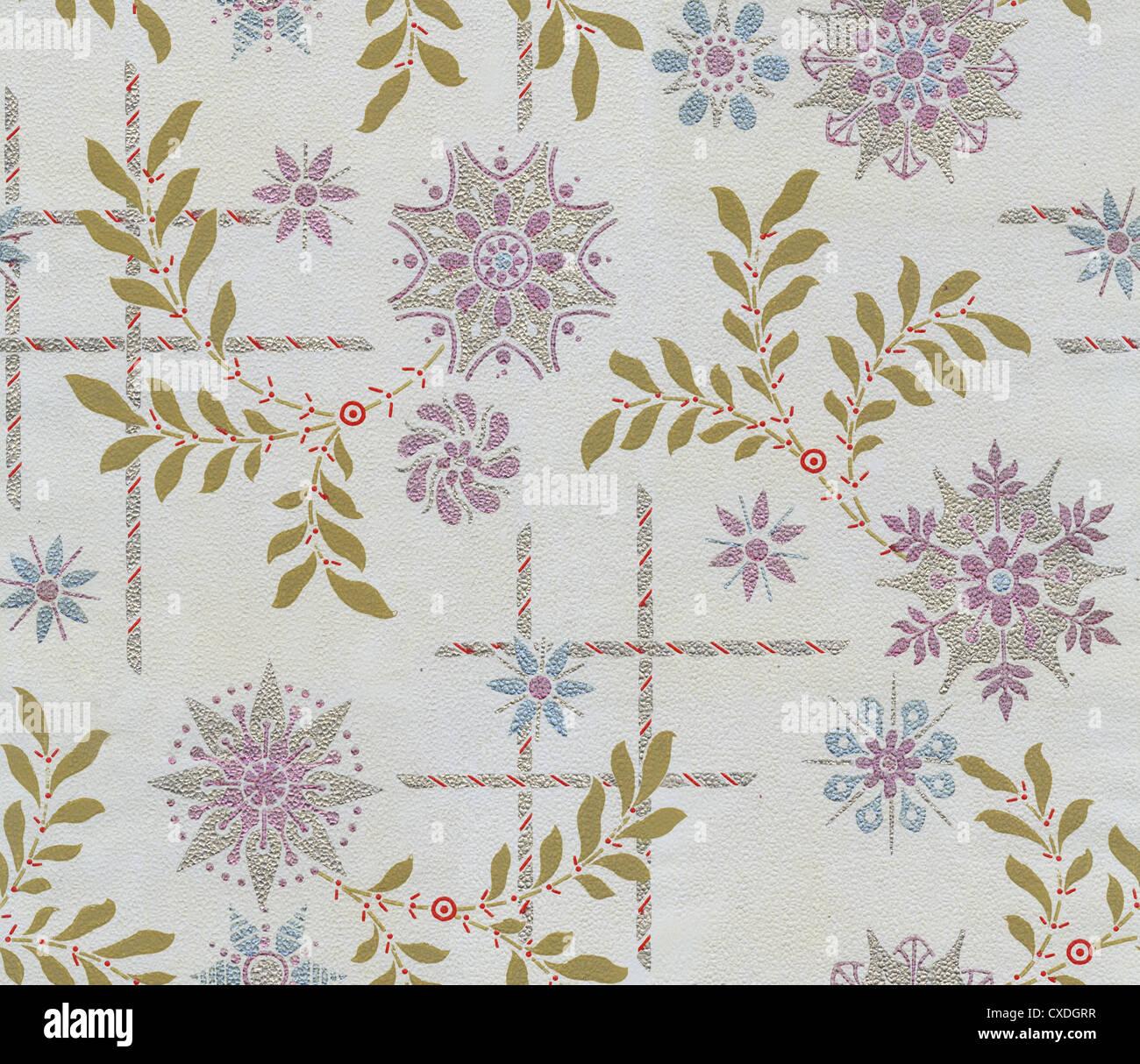 Aesthetic movement interior stock photos aesthetic - Late victorian wallpaper ...