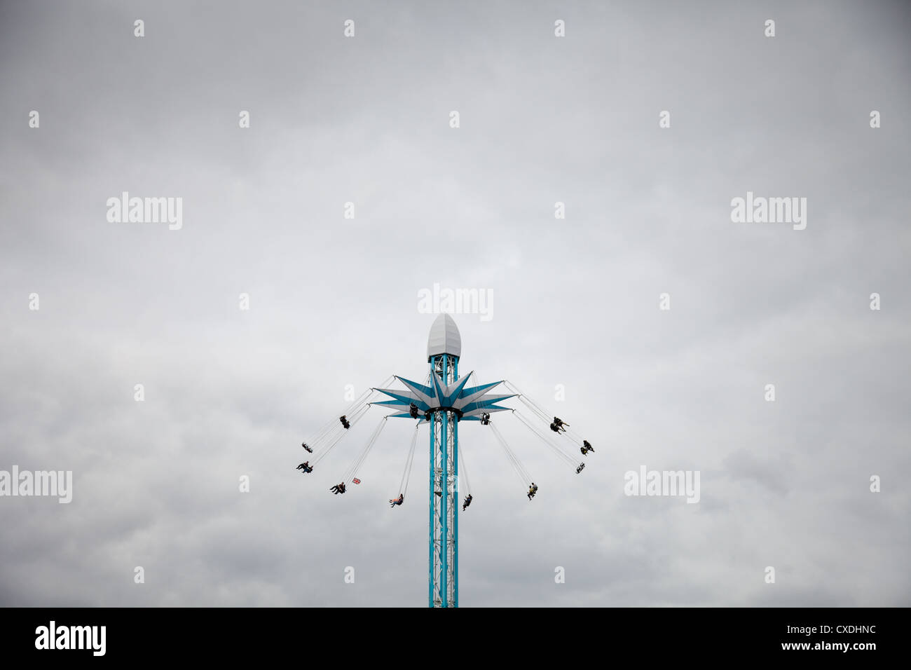 The Star Flyer at Priceless London Wonderground, South Bank - Stock Image