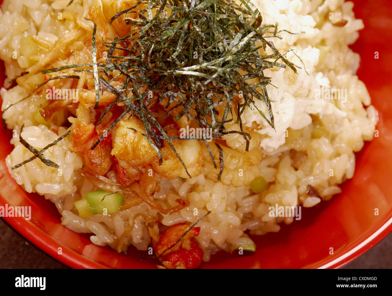Seafood tyahan or rice with seafood 86