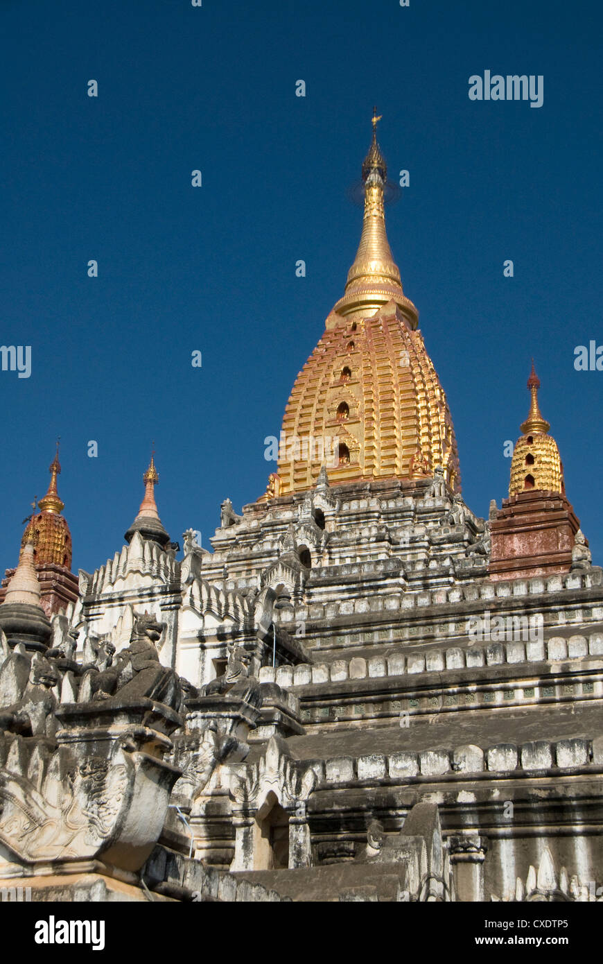 Ananda Pahto, Bagan (Pagan), Myanmar (Burma), Asia Stock Photo