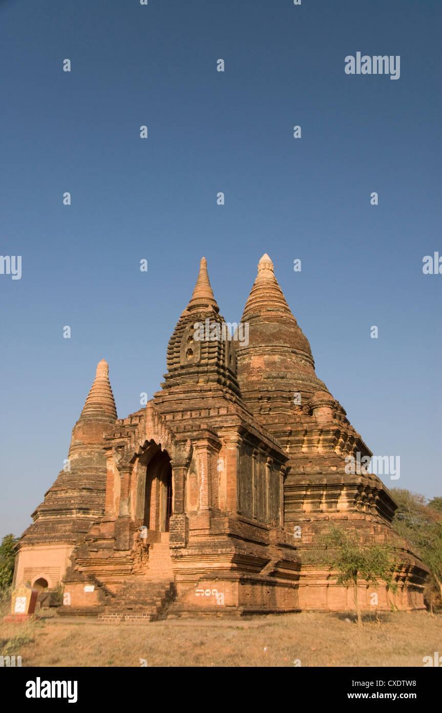 Small pahto, Bagan (Pagan), Myanmar (Burma), Asia Stock Photo